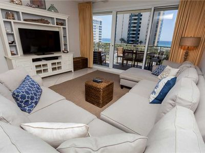 Photo for Contemporary Coastal Design In An Incredible Unit With Hard Floors Throughout