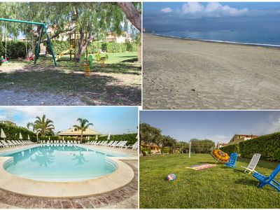 Photo for Paradise Beach Vacation Rentals 8 km from Cefalù transfer car and scooter rental