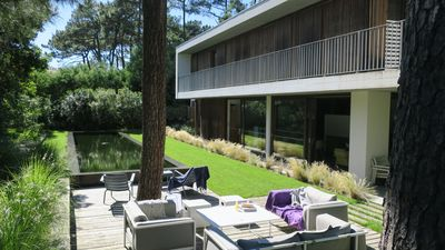 Photo for CAP-FERRET BETWEEN ARCACHON BAY AND OCEAN - VERY NICE VILLA WITH SWIM POOL