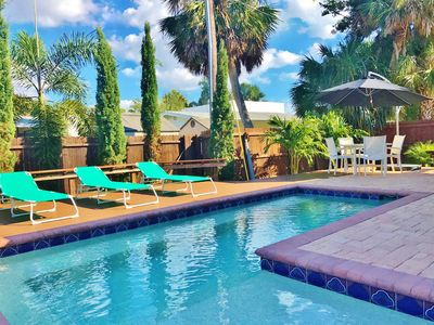 Photo for A Piece of Paradise just a short Walk to Siesta Key Beach with Heated Pool