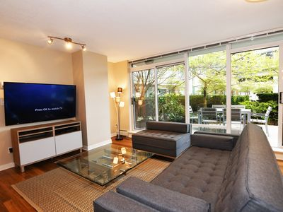 Photo for Spacious 4 Bed Condo w/Private Patio + Parking