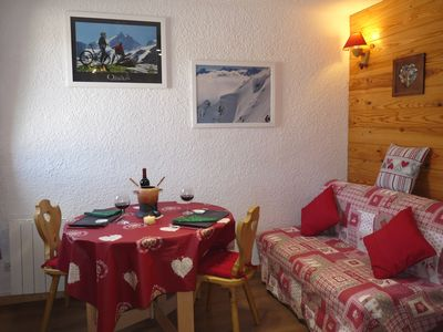 Photo for New nice apartment F2 3 * at the foot of the slopes (Jandri) and the ESF - HYPER CENTER