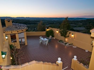 Photo for Self catering Terra Blanca del Benicadell for 11 people