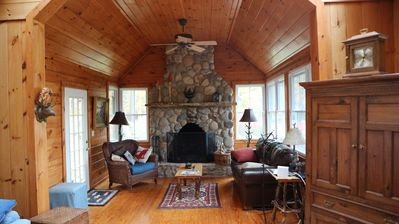 Photo for Adirondack home with guest cottage on Northern Lake George, 2nd week 50% off