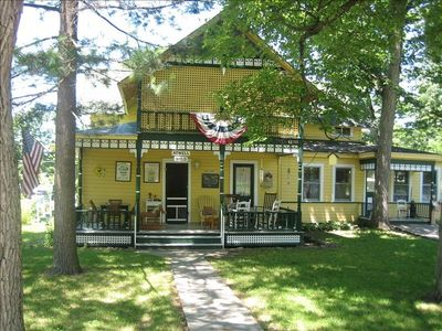 Beautiful large Victorian cottage located on large lot in quite area
