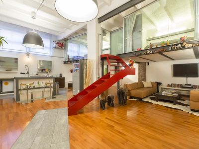 Photo for Luxury Loft DUOMO Walking Distance, 2 bedrooms, 120sqm A/C