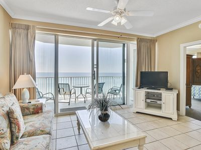 Photo for 2bd/2ba~Luxurious Condo located in PCB~ Amazing view of the Gulf! Book now!!