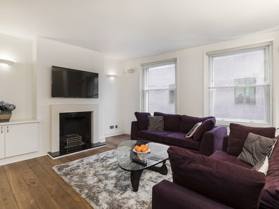 Photo for STEPS FROM PICCADILLY, LEICESTER SQUARE AND THEATRE DISTRICT - SPACIOUS 3BR FLAT