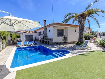 Photo for Catalunya Casas: Villa Miami Platja for 10 guests, a short walk to the beach!