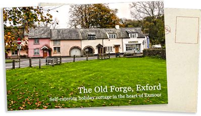 THE OLD FORGE Picture Postcard