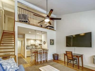 Photo for 1671 Bluff Villa - 1 Bedroom Loft townhouse