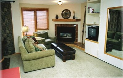 Photo for Ski-in Ski-Out:King in Master; Quiet End Unit; high speed secure internet; 2 TVs
