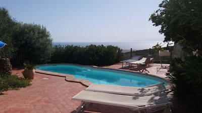 Photo for house / villa in south Sardinya with panoramic swiming pool