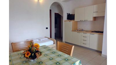 Photo for Apartment for 4 people at 700 meters from the sea, in residence with swimming pool