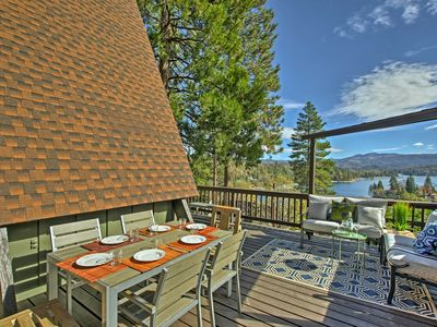 Photo for Great Home with 3 Decks & Views of Lake Arrowhead!