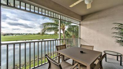 Photo for Lely Resort, Freshly Decorated Luxury Rental; Golf & Lake Views;Resort Style Pool;Close to Downtown!