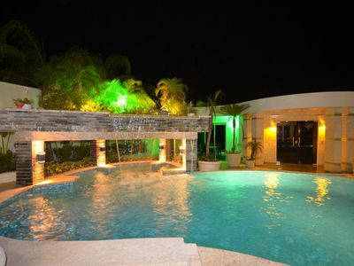 Photo for Top-Class Luxury Villa with Pool in the Heart of Sosua, 7 bedrooms/7 bathrooms