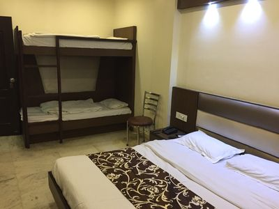 Photo for Triple Bed AC Room with Breakfast in Central Delhi