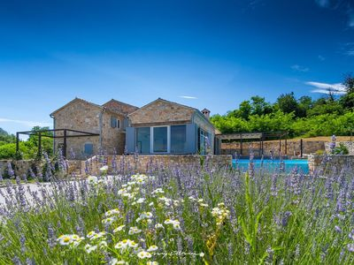 Photo for Idyllic stone villa in perfect harmony with nature