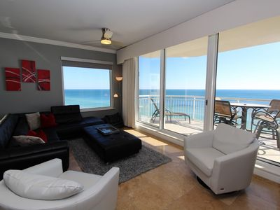 Photo for Indigo West 1101- Beach Front Unit with Luxurious Interior and Amenities!