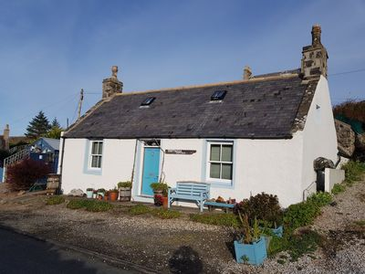 Photo for NEW LISTING!! Driftwood Cottage, near Portsoy's historic harbour-stunning garden