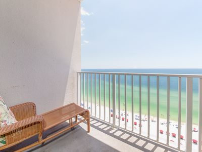 Photo for Picturesque Condo In Perdido Key! Directly On Beach! Incredible Gulf-Front Views