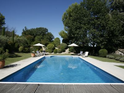 Photo for Mas with Marronnier, with heated pool, tennis for 13 people