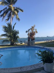 Photo for Waterfront 1 bed apt on Biscayne Bay