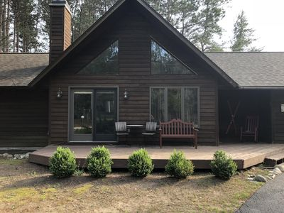 Photo for Crystal Mountain Golf and Ski Cottage-short walk to ski, golf, food and fun!