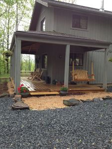 Photo for Peaceful, Upscale, Five Star Cabin in The Blue Ridge! Family & dog friendly!wifi