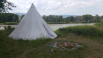 Photo for Yellowstone River Front -Tipi Chief Joseph