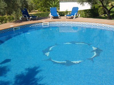 Photo for High Quality villa with wonderful round pool and gardens. A paceful place