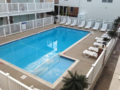 Photo for Beautiful 1 bedroom condo steps away from the beach and boardwalk.