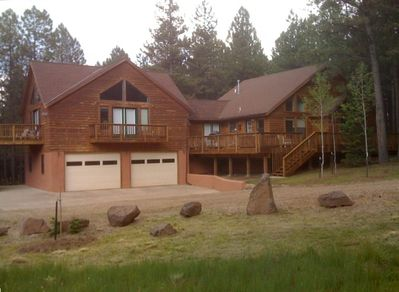 Two car garage and master suite