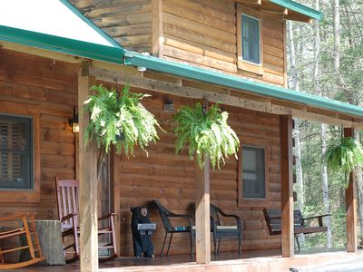 Photo for Teays Cabin - Only 10 Minutes From Fayetteville Situated On 83-acres!
