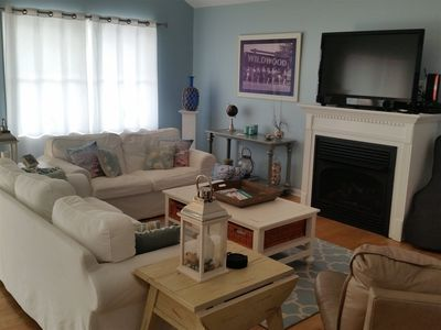 Photo for 3BR and 2.5BA Condo in North Wildwood - One Block To The Beach!!