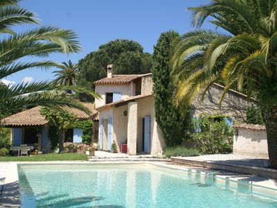 Photo for Lovely villa near ively Vence (Côte d'Azur), only 12 km from the beach.