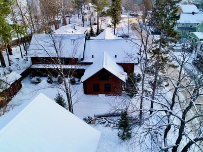 Photo for Pine Lodge-Adirondack style condo-2+bedrooms-1.5 baths-walking distance to Main