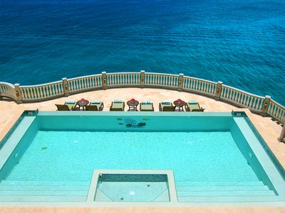 Villa Rhapsody St. John Floats Atop the Turquoise Caribbean.
