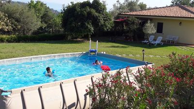 Photo for Villa with pool, near the sea, arrounded by olives trees and garden