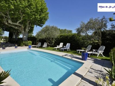 Photo for An Old Mas in Provence, Sun and Pool