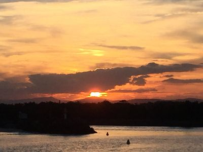 Photo for Swansea Lakeside Sunsets are two apartments, on the shores of Lake Macquarie