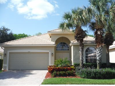 Photo for 7602 Charing Cross Lane, Delray Beach, 3/2, gated, Priv pool, WIFI,  NETFLIX