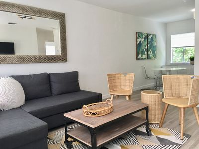 Photo for Midtown Bungalow: 2  BR, 1  BA Duplex in Miami, Sleeps 4