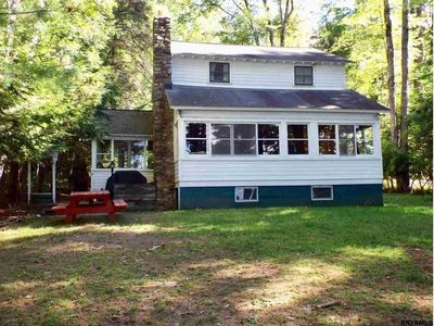 Photo for Great Sacandaga Lake 5BR Cottage with Direct Waterfront, Dock, Swimming Platform