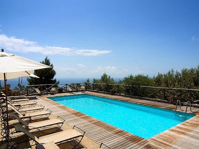 Photo for One bedroom Villa, sleeps 4 in Massa Lubrense with Pool, Air Con and WiFi