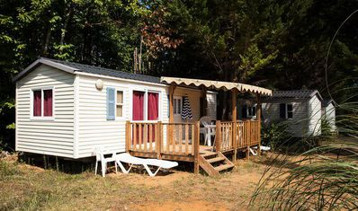 Photo for Camping Le Val d'Ussel **** - 4 room villa 6 people