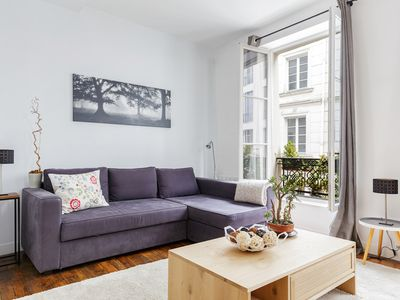 Photo for IN THE HEART OF PARIS - LOVELY 1BR MOMENTS FROM MARAIS  - LOUVRE - MONTORGUEIL!
