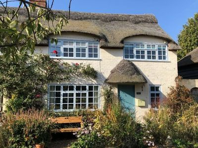 Photo for Beautiful mid century thatched cottage in the prettiest part of Winterton-on-Sea.