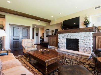 Photo for Elegant condo with mountain views, concierge service and winter shuttle -- steps to chairlift